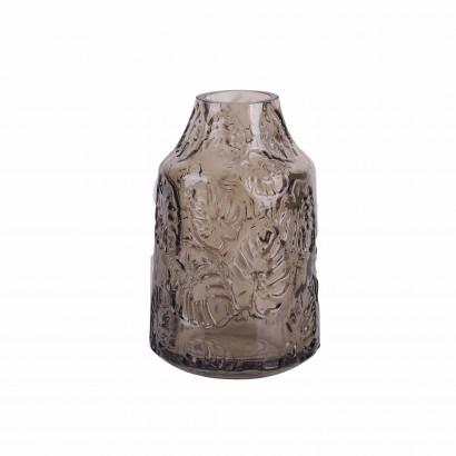Vase en verre transparent...