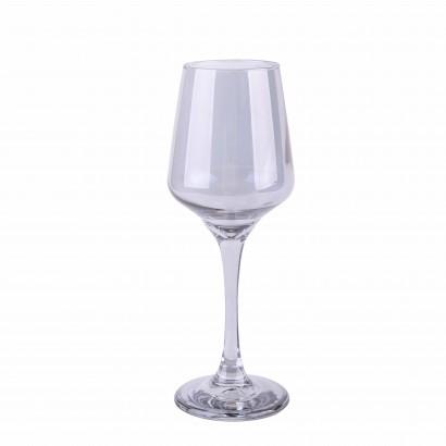 Crystal stemmed glass