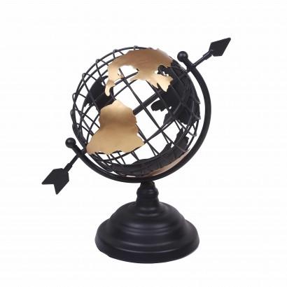 Globe Métallique