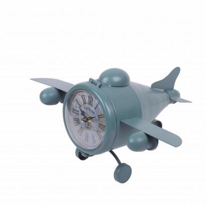 Horloge en forme d'avion