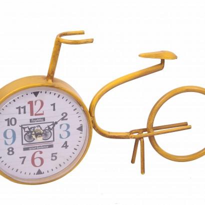 Klok in de vorm van een fiets