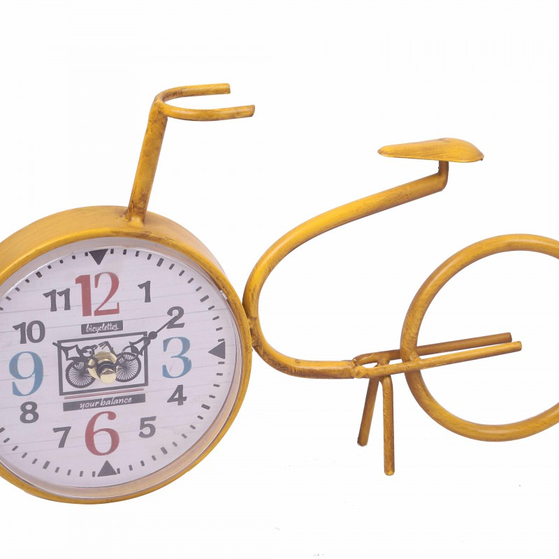Horloge en forme de vélo