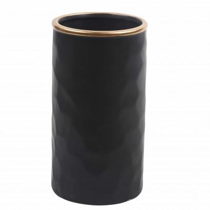 Vase JACO noir H22,5