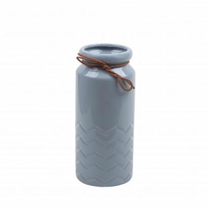 Vase OMEN grey H23