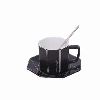 Ceramic cup and spoon set...