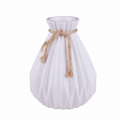 Vase en céramique Blanc