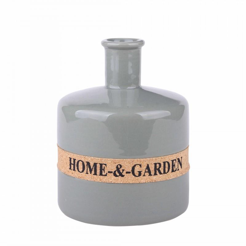 Vase INA green H14.5