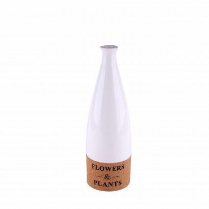 Vase INA white H27