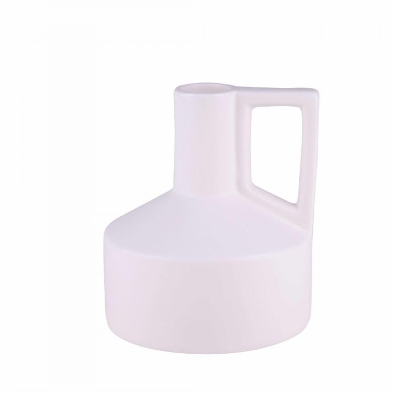 Vase ANTOINNETE white H17.5