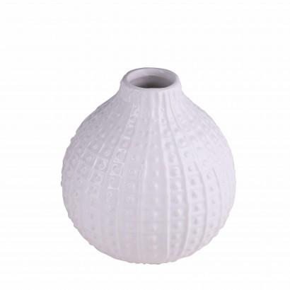 Vase NATEO blanc H12