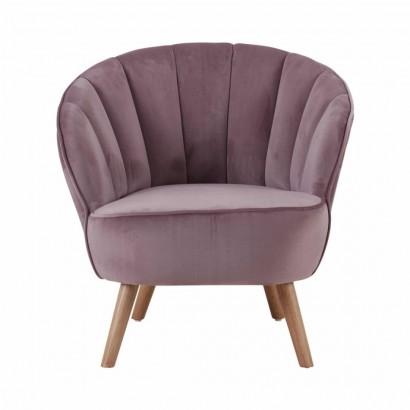 JASPER velvet armchair...