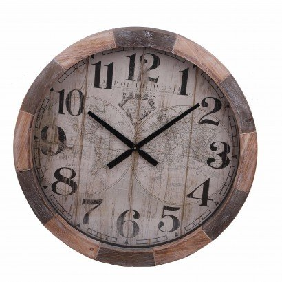 Horloge en Bois Vintage...