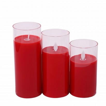 Set 3 bougies électroniques...