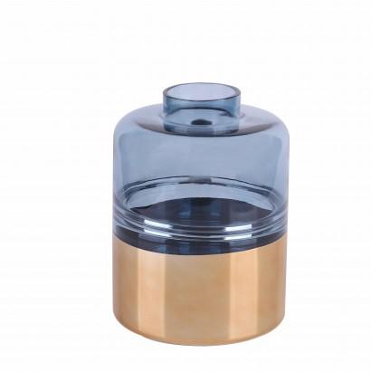 Vase AKUNE en verre H26 cm