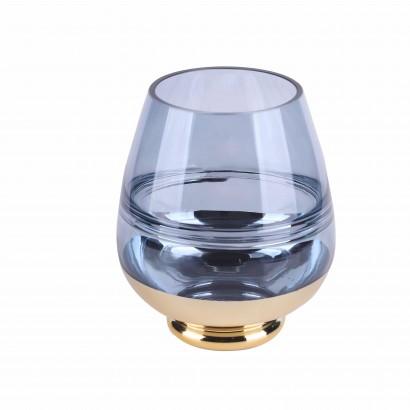 Vase HIOKI en verre H20 cm