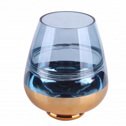 Vase HIOKI en verre H23 cm