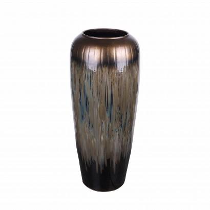 Jarre en céramique noire