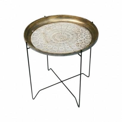 Table d'appoint pieds métal...