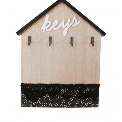 Porte clés en Bois déco