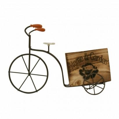 Pot de Fleurs en forme de Vélo