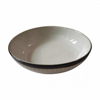 KOGA Ceramic soup plate D21CM