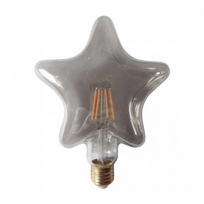 Pack of 2 Grey Star Shaped...