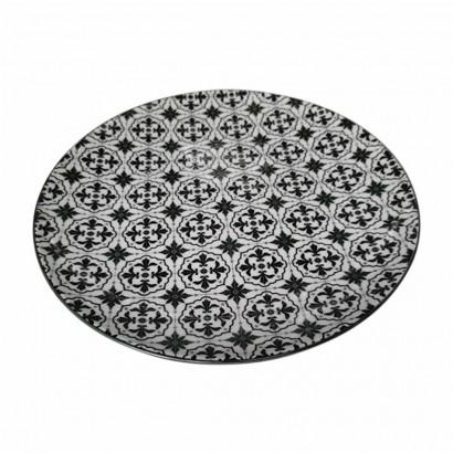 AINSLEY ceramic plate D27CM