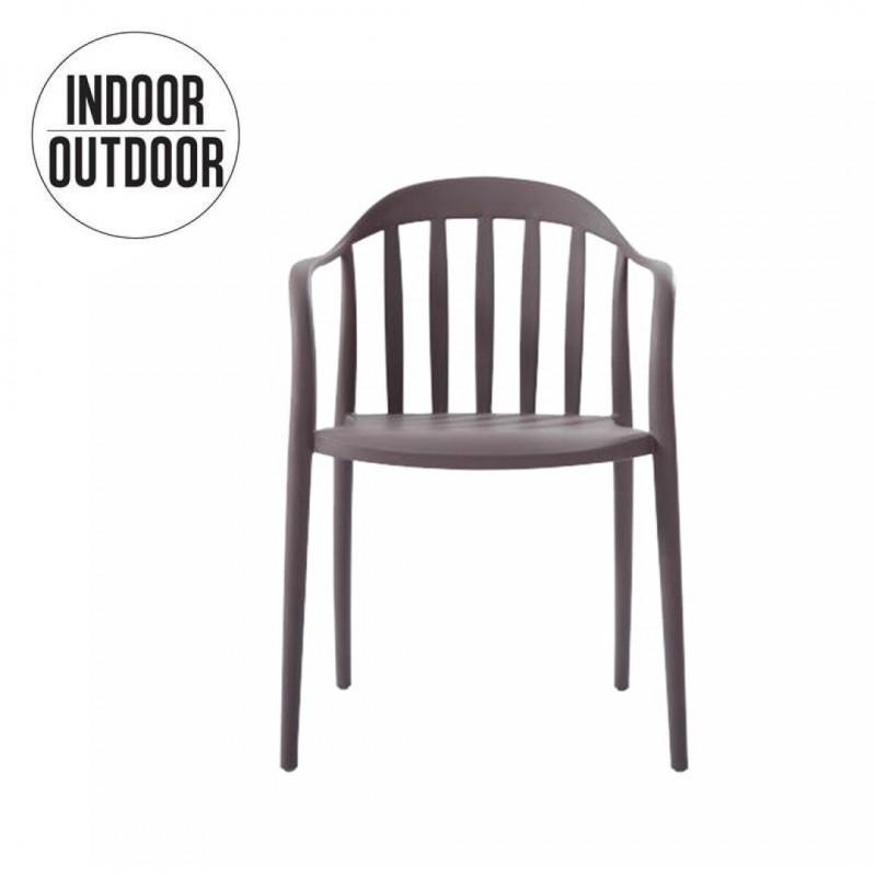 Chaise empilable INTERIEUR EXTERIEUR JARDIN 48X48X81 Cm