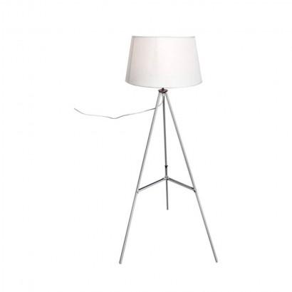 Lampadaire métal Blanc