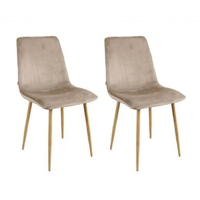 Set of 2 Chair DESIGN Metal...