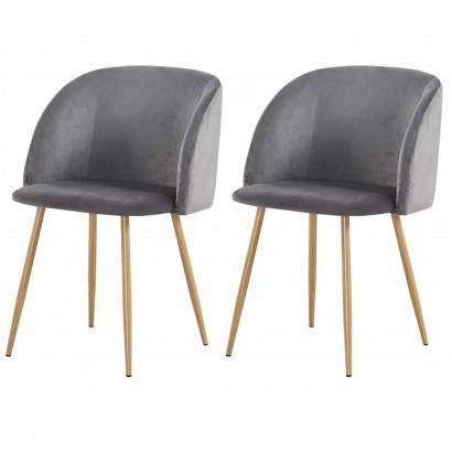 Lot de 2 chaises style...
