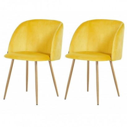 Set of 2 HELSINKI Chaises...