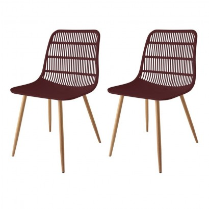 Set of 2 GEORGES Chaises...