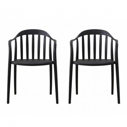 Set of 2 stacking chairs...
