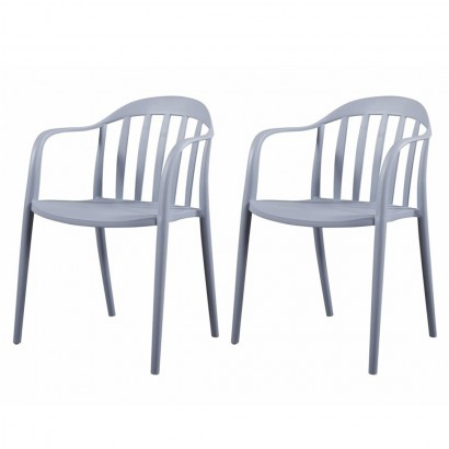 Lot de 2 chaises empilable...