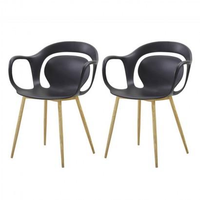 Set of 2 SVEN chaises à manger