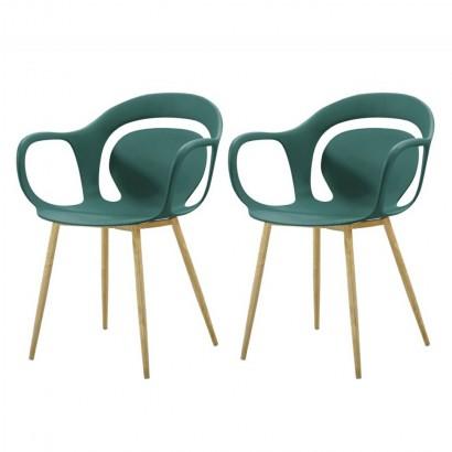Set of 2 SVEN chaises à...