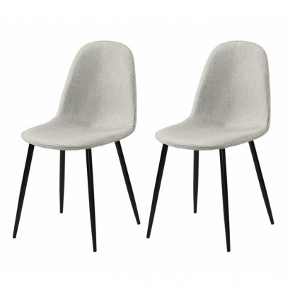 Lot de 2 chaises type...