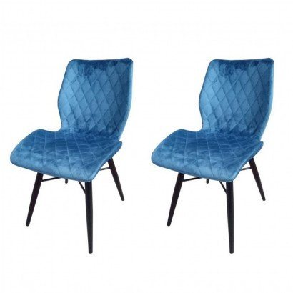 Set of 2 DOM Chaise en...