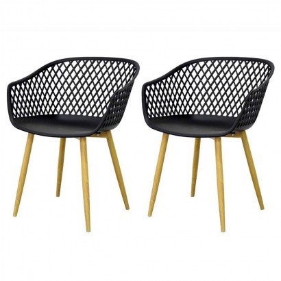MOKA Chair TAUPE Set of 2