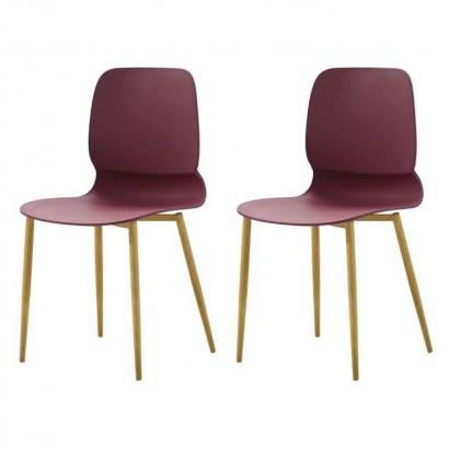 Lot de 2 chaises scandinave...