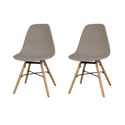 Lot de 2 chaises scandinave...
