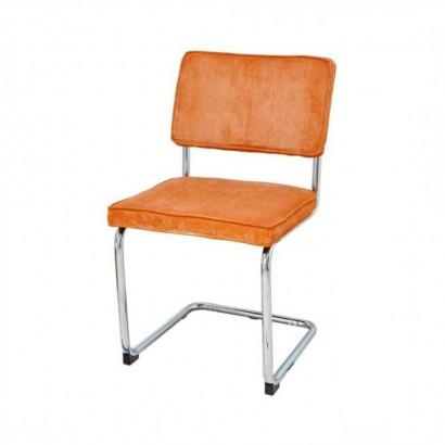 Chaises en velours design -...