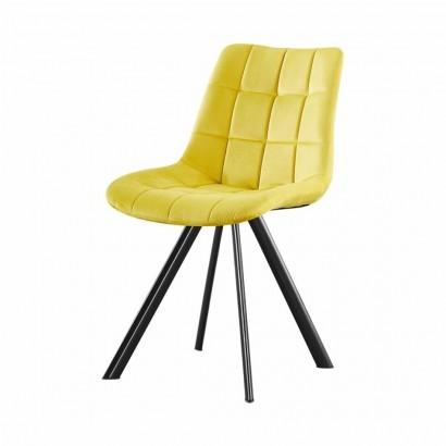 FIOSA chaise en PU - Yellow