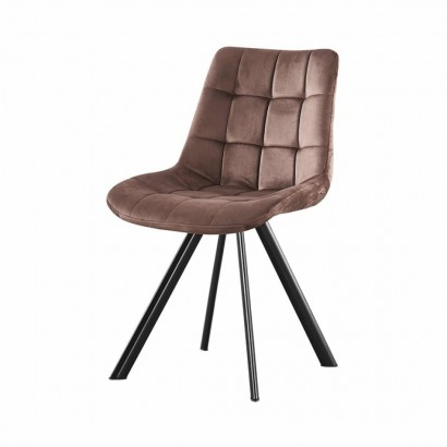 FIOSA chaise en PU - Brown