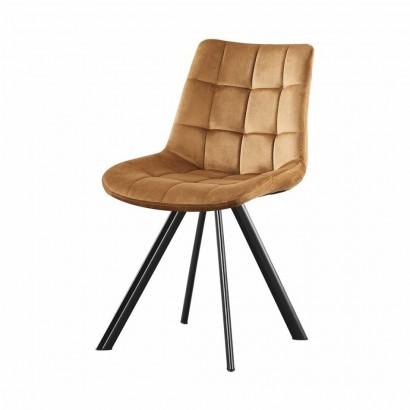 FIOSA chaise en PU - Ambre