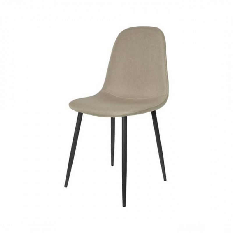 Upholstered scandinavian style chair
