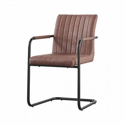 BOGOTA fauteuil en PU - Camel