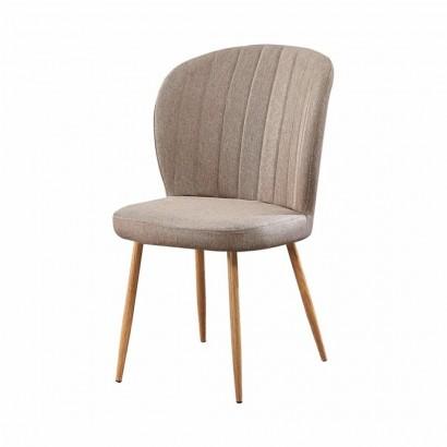TORA Chaise en tissu