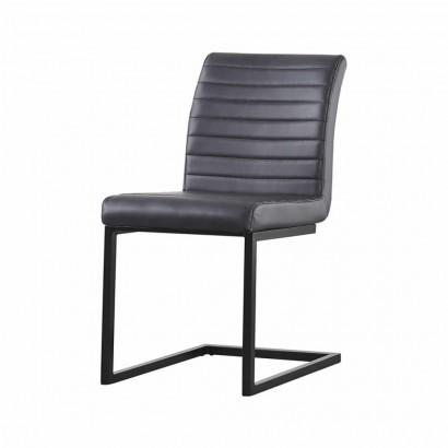 RIO chaise en PU - Black